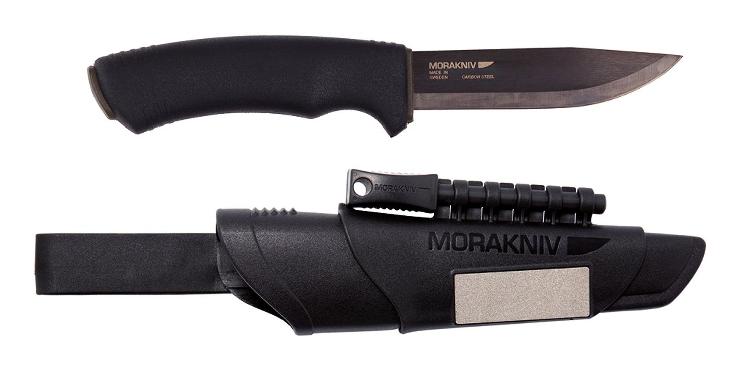 Mora Bushcraft Survival Black mit Scheide