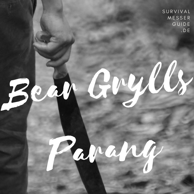 bear grylls parang machete test