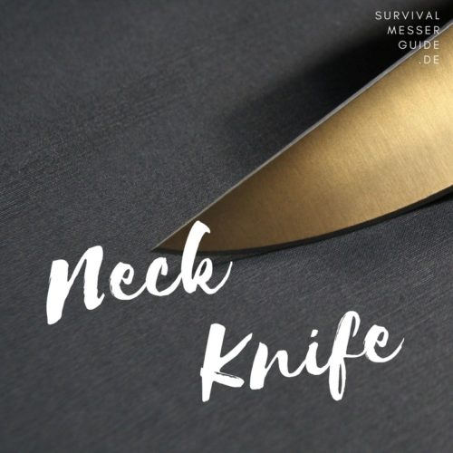 neck knife test