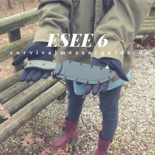 ESEE-6 Survival-Messer Test