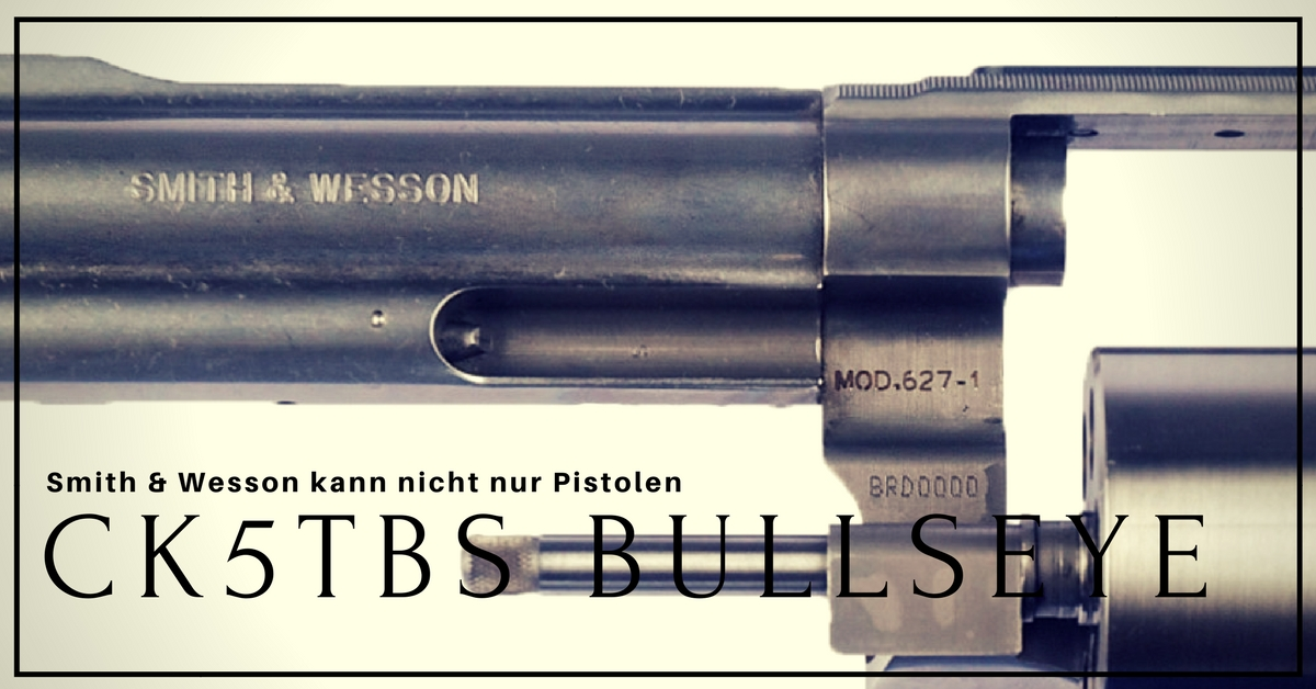 smith and wesson CK5TBS Bullseye Extreme Ops Messer Test