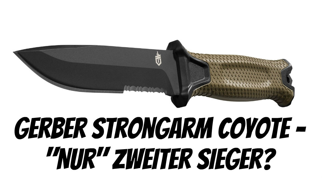 Gerber Strongarm CGerber Strongarm Coyote Test