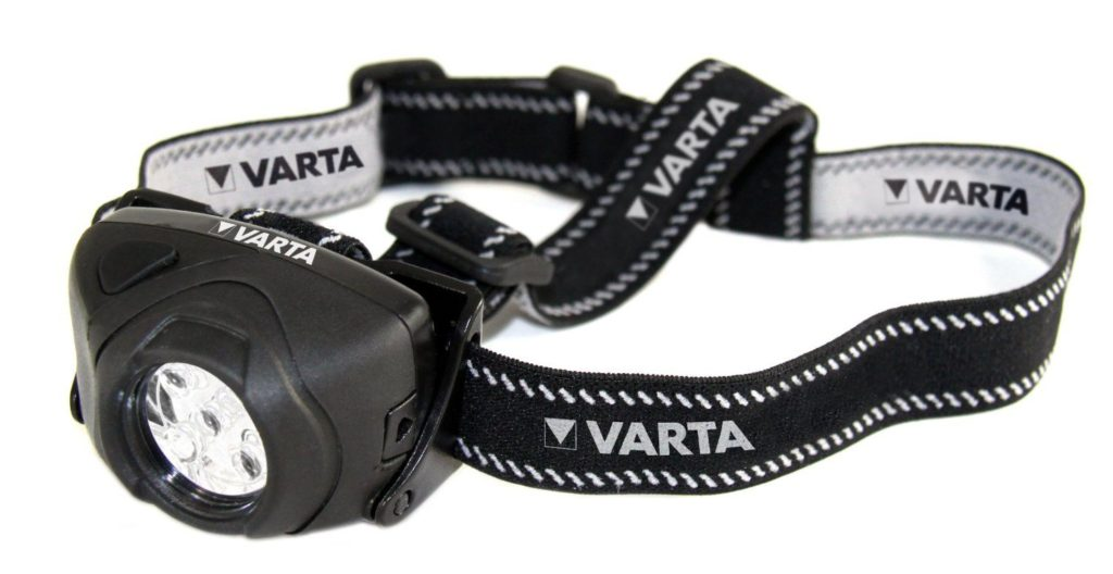 Varta 5 x 5mm LEDs Indestructible Head Light