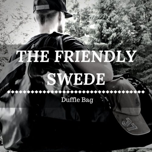 The Friendly Swede Duffle Bag - Wasserfest und vielseitig