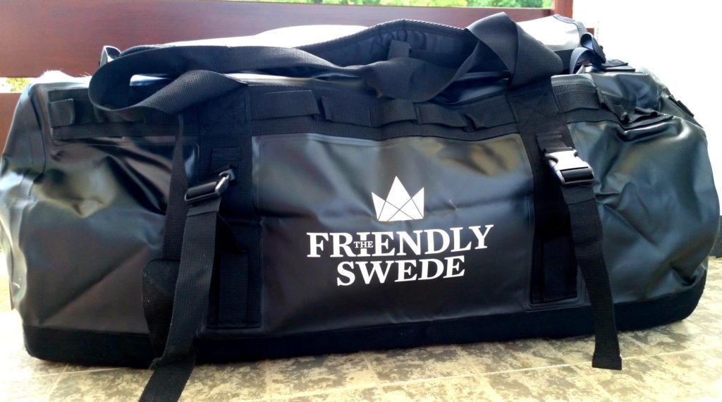 the friendly swede wetterfestes duffle bag