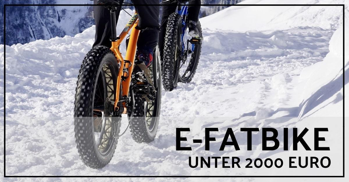bestes e bike fatbike unter 2000 euro 2019 bigfoot auf. Black Bedroom Furniture Sets. Home Design Ideas